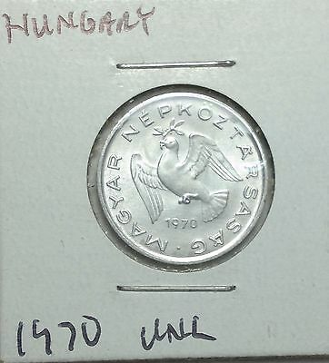 1970 Hungary 10 filler coin, world coins