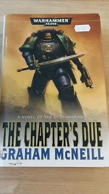 Warhammer 40K Novel The Chapter's Due in good condition