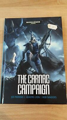 Warhammer 40K Novel The Carnac Campaign Hardback in mint condition
