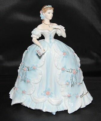 Royal Worcester The First Quadrille Figurine Limited Edition Seconds