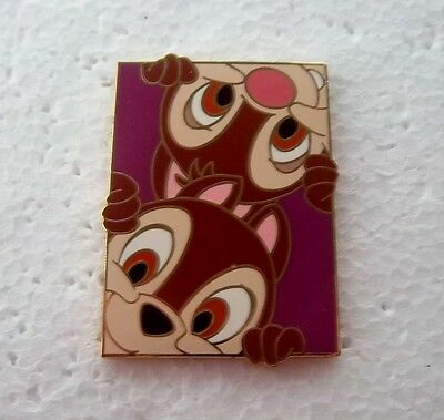 *~*disney Auctions Chip & Dale Peek A Boo Le Pin*~*
