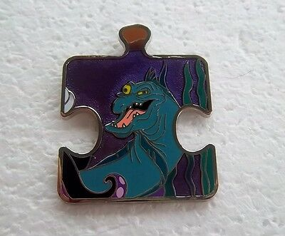 *~*disney Jetsam The Little Mermaid Character Connection Puzzle Le Pin*~*
