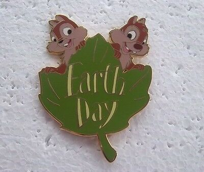 *~*disney Auctions Chip & Dale Earth Day 2005 Jumbo Le 100 Pin*~*
