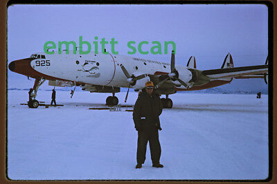 "Orig. Slide Navy Project Magnet Lockheed NC-121K Warning Star ""Paisano Dos"" 1968"