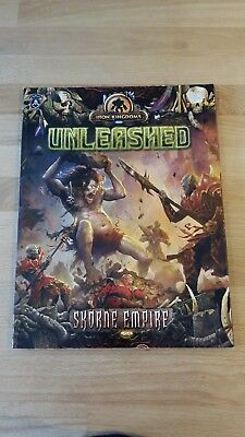 Warmachine Iron Kingdoms Unleashed in mint condition