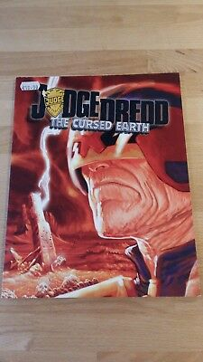 RPG Judge Dredd The Cursed Earth in mint condition