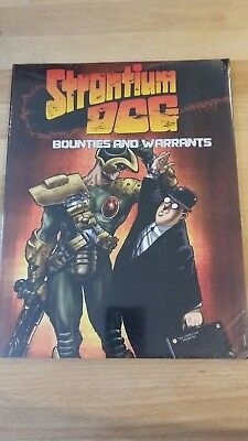 RPG Strontium Dog Bounties and Warrants in mint condition