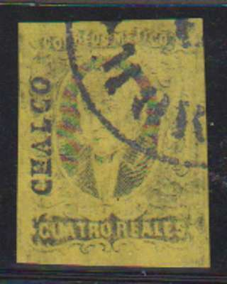C0153: Mexico #9 Used, Huge Margins; CV $100++