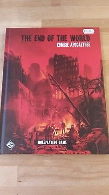 RPG The end of the World Zombie Apocalypse Hardback mint condition