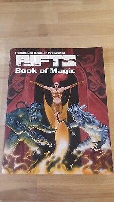 RPG Rifts Book of Magic Softback in good condition