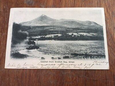 Old Postcard Goatfell Arran