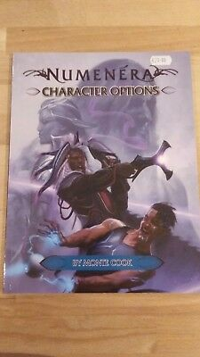 RPG Numenera Character Options in mint condition