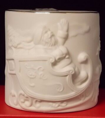 Lenox Radiant Light Santa Porcelain Votive New in Box 853734