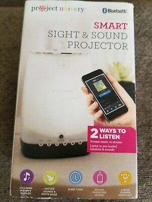 Project Nursery Sight & Sound Sleep Soother Projector with Bluetooth
