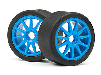 Hpi Micro Rs4 Ken Block [114192] Slick Tyre & Speedline Wheels (4Pcs) #115390