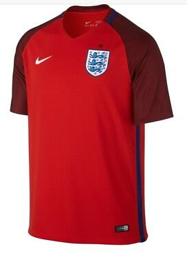 England 2016/2018 Away  Shirt Size Med  New With Tags