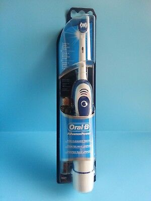 NEW Braun Oral-B Advance Power 400 ELECTRIC Toothbrush (BATTERIES INCLUDED)