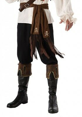 Brown Pirate Sash Buccaneer Belt Pirate Costume Accessory 80in