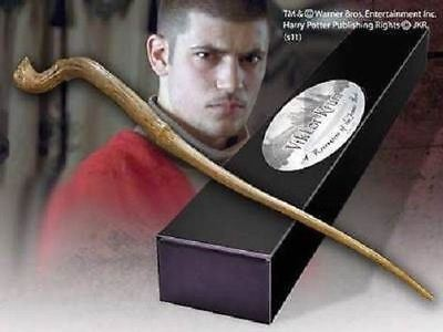 Harry Potter Official Collectors Viktor Krum Replica Wand Bonus Name Clip Stand