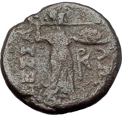 LARISSA Thessaly Ancient Greek Coin for THESSALIAN LEAGUE - APOLLO ATHENA i64360