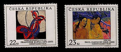 Czech  Republic 1998 Art - Mint Hinged