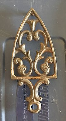 Antique Ornate Cast Iron Trivets Nice Shape