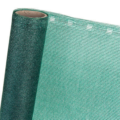Fence Panels 85% in 2m x 20m Screen Screen Shading Net in Green
