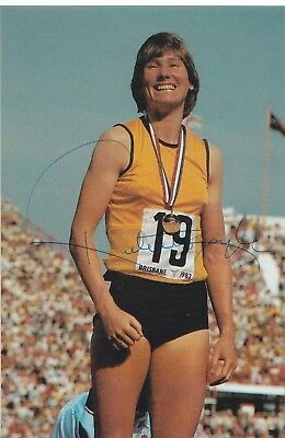 Raelene Boyle Australia Athletics Great Olympics Signed Photo Coa