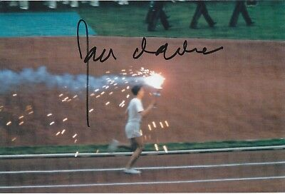 Ron Clarke Australia Athletics Great Olympics Signed Photo Coa