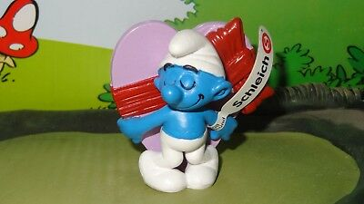 Smurfs Valentine's Day Smurf Pink Heart Celebration Series 2012 Display Figure