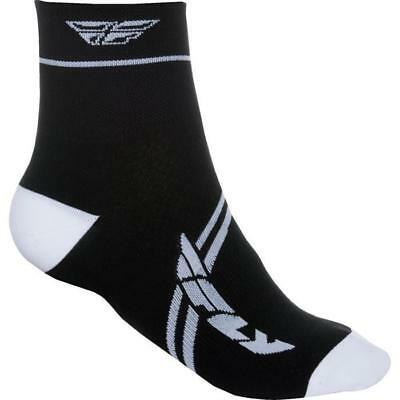FLY RACING ACTION MTB Socken 2018 - weiss schwarz Motocross Enduro MX Cross