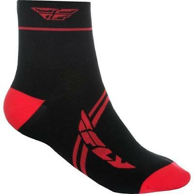 FLY RACING ACTION MTB Socken 2018 - rot schwarz Motocross Enduro MX Cross