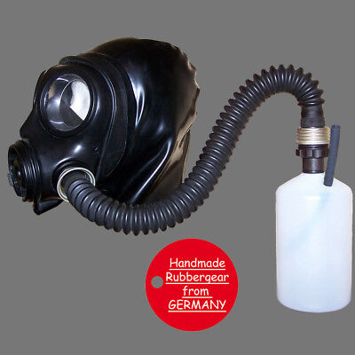 Latex Rubber Gum Studio Gas Mask - Latexmaske Gasmaske - custom made - b2