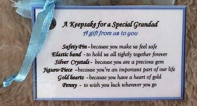 keepsake Fathers Day gift for Grandfather Grandad Birthday gift idea for him men