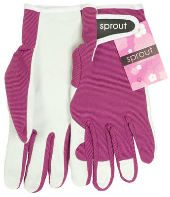 NEW Sprout Garden Gardening Gloves Hot Pink