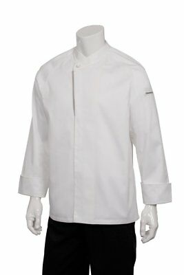 Chef Works Men's Trieste Executive Chef Coat ECRO