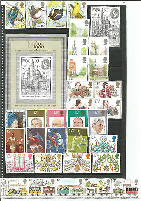 GB Great Britain Year 1980 Commemorative Complete included Leaf