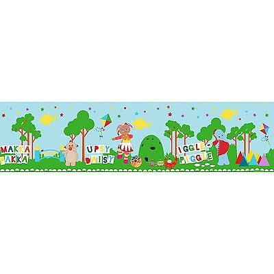 The Night Garden Self Adhesive Wallpaper Border 5M Wall Decor New