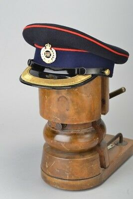 Royal Engineers Officers s 7.25 /59 Boxed Parade Condition No1 Dress Cap. BBQ