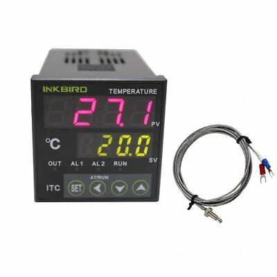 Inkbird Digital PID Temperature Controller on/off Thermostat Ac 100-240V with K
