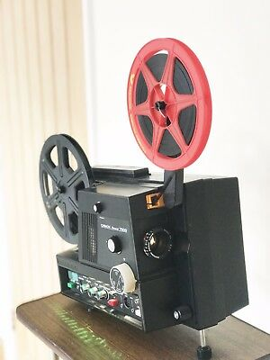 Chinon Sound 7500 SUPER 8 8MM Sound CINE PROJECTOR FULLY SERVICED
