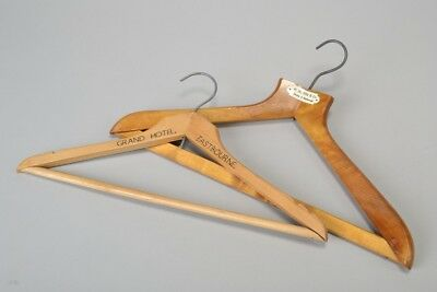 M.Sloper Devizes & Marlborough, Grand Hotel Eastbourne Coat Hangers. CIH