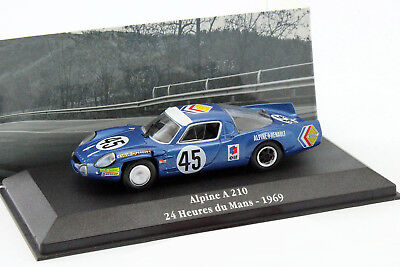 Alpine A210 #45 24h LeMans 1969 Wollek, Killy 1:43 Atlas