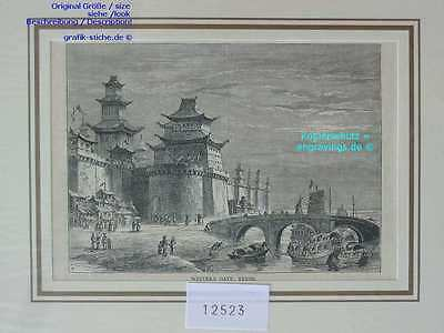 12523-China-PEKING-BEIJING-Chinese Junk-TH-1880
