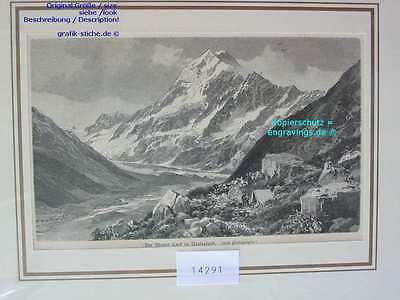 14291-Neuseeland-New Zealand-MOUNT COOK-TH-1890