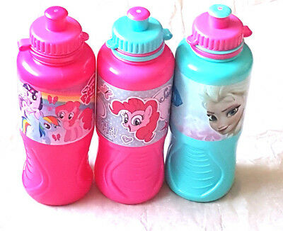 Girls  Character Paw Patrol My Little Pony Drinks Bottle With Sports Spout  New