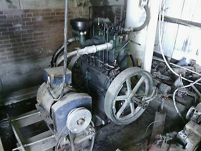 "Lovson ""listeroid"" 12-2 diesel engine and st12 generator head"