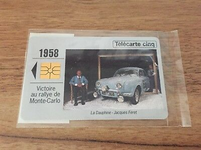 Collectable Phonecards. Telecarte Phonecard Renault 1958