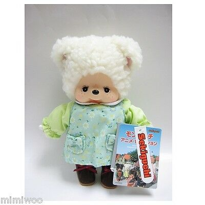 Monchhichi Japan Sekiguchi MCC Anime Friend 20cm S Size Plush Doll Cham Sheep