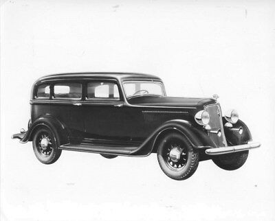1934 Plymouth ORIGINAL Factory Photo oub8199